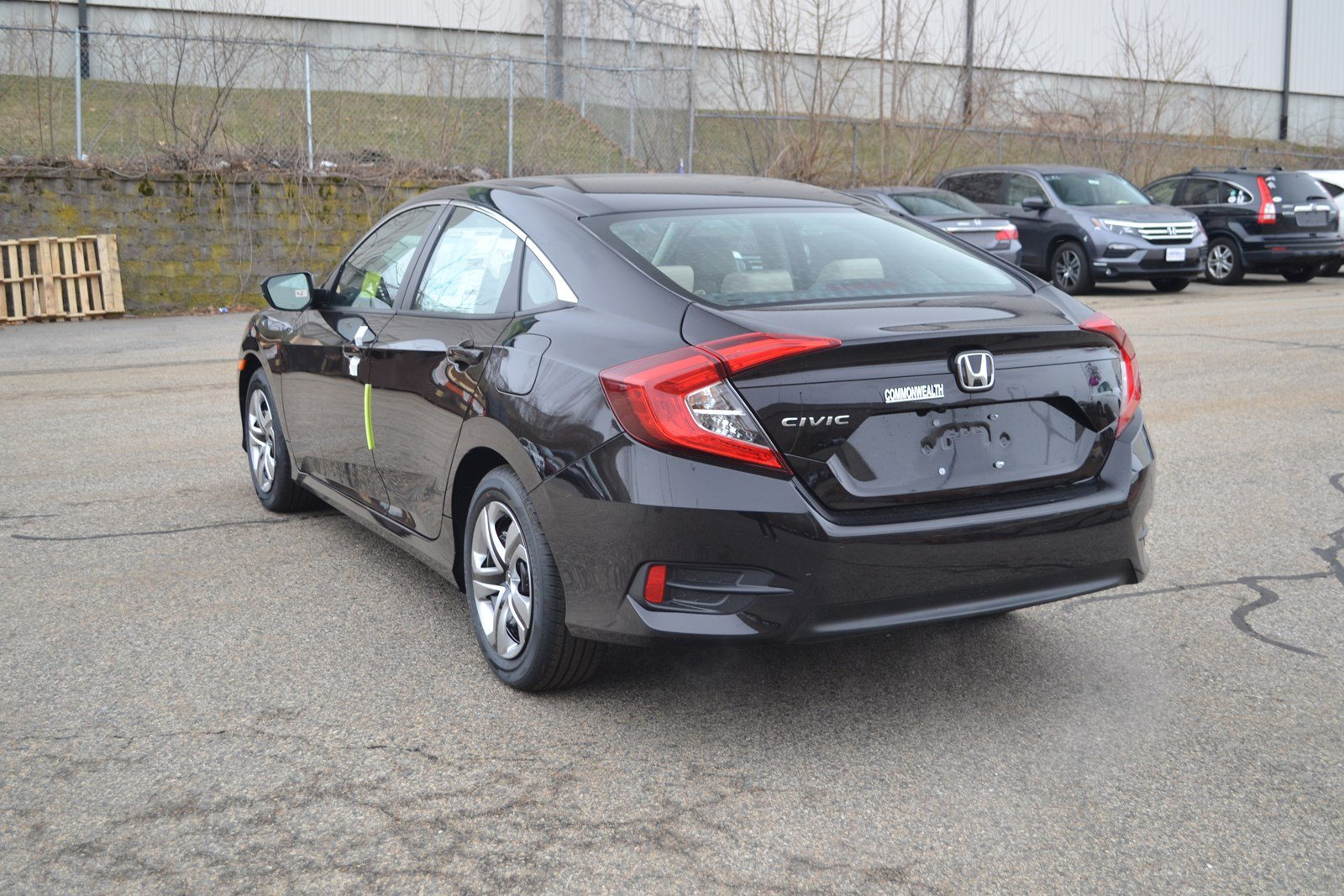 New Honda Civic Sedan Lx Car In Lawrence