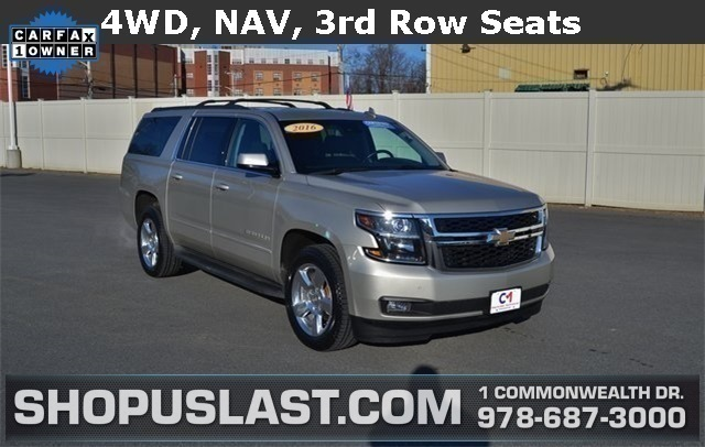 Certified Pre Owned 2016 Chevrolet Suburban Lt