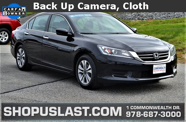 Certified Pre Owned 2014 Honda Accord LX