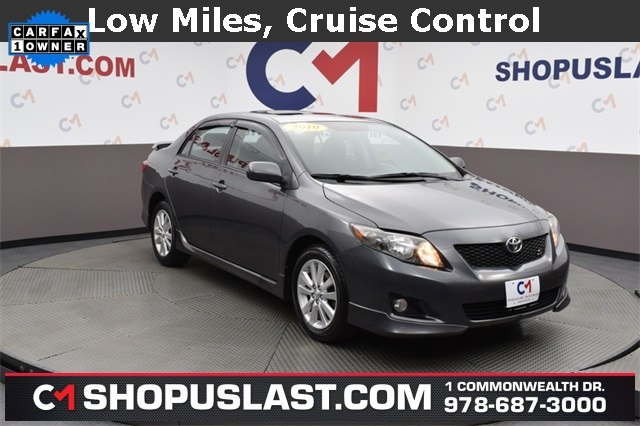 2010 Toyota Corolla S >> Pre Owned 2010 Toyota Corolla S 4d Sedan In Lawrence V2592a