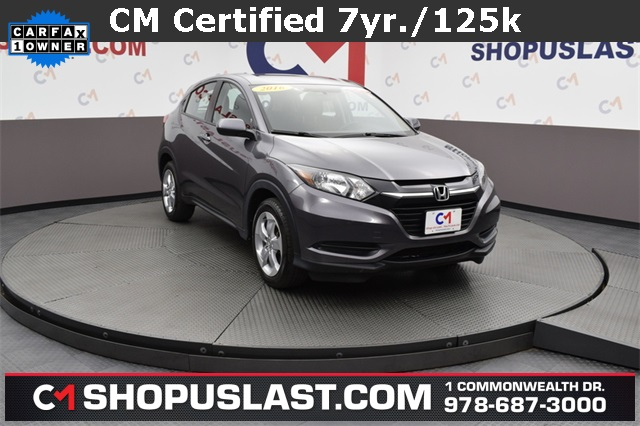 Certified Pre Owned 2016 Honda Hr V Lx