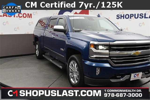 Certified Pre-Owned 2016 Chevrolet Silverado 1500 High Country