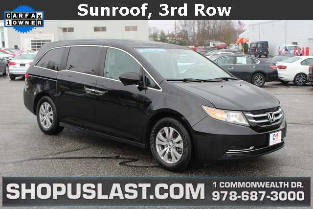 Certified Pre Owned 2017 Honda Odyssey Ex L