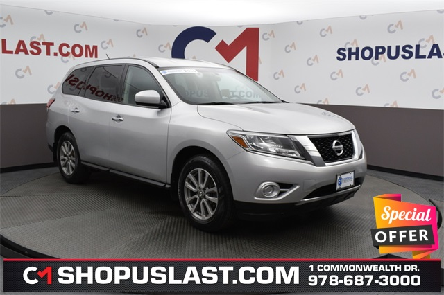 Certified Pre-Owned 2014 Nissan Pathfinder S