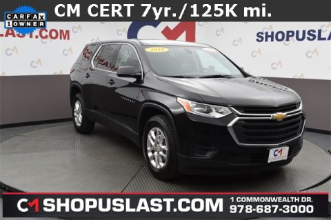 Certified Pre-Owned 2019 Chevrolet Traverse LS