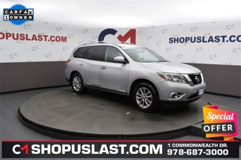 Certified Pre-Owned 2014 Nissan Pathfinder SL